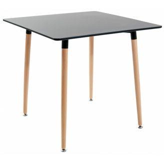 Квадратний стіл Richman Ксав'єр 800х800х730 мм мдф-чорний