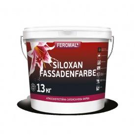Краска силоксановая фасадная FEROMAL SILOXAN FASSADENFARBE профессиональная база А, С 13 кг