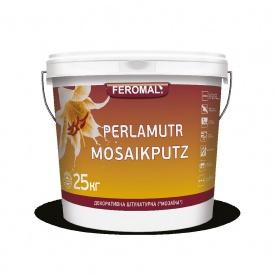 Штукатурка акриловая FEROMAL MOSAIKPUTZ декоративная МОЗАИКА зерно 1-1,6 мм 25 кг