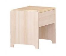 Пуфик Мебель-Сервис Токио 400х390х320 мм ясень