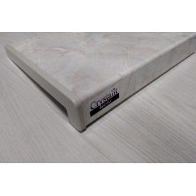 Подоконник Crystalit Глянец Бристоль 200x1000 мм