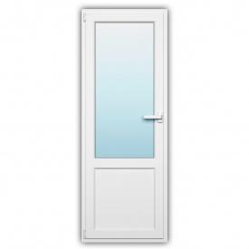 Балконные двери WDS 500 наружная ламинация 800х2200 с энергосбережением