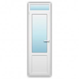 Балконные двери Rehau 60 наружная ламинация 700x2400 мм с энергосбережением