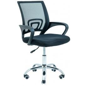 Кресло офисное Richman Спайдер 930-1030х540х650 мм сетка черная