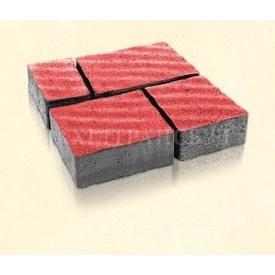 Брусчатка Західтрансбуд Римский камень 6 см 160х95х85 мм красная