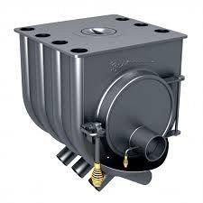 Отопительная печь Булерьян увеличенная 13 кВт варочная для дома 250 м3