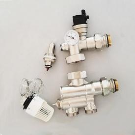 Смесительный узел для теплого пола 20-90 ºС 12-15 кВт