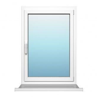 Одностулкове вікно з поворотно-відкидною стулкою Rehau 60 зовнішня ламінація 700х1100 мм