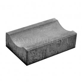 Водовідлив Західтрансбуд бетонний 255х160х60 мм сірий