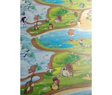 Развивающий детский коврик KinderPol XXL
