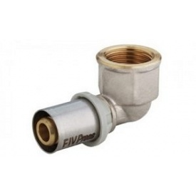 """Кут під прес для металопластикової труби ВP 20х3 / 4 """", FIV"""
