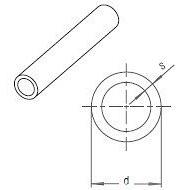 Труба RAUTITAN pink 40х5,5 мм, відрізкі 6 м