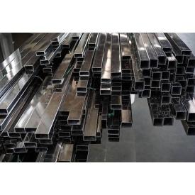 Труба нержавеющая квадратная AISI 201 (12Х15Г9НД) зеркальная