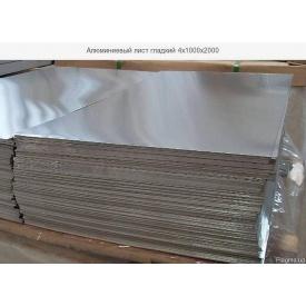 Лист алюмінієвий гладкий АД0 1х1000х2000 мм