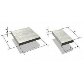 Плита бетонная тротуарная 8К5 армированная 50х500х500 мм