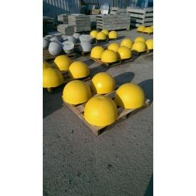 Полусфера парковочная бетонная 500х250 мм