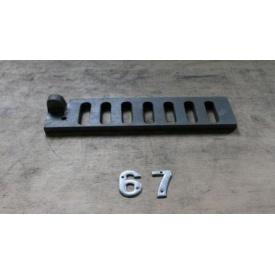 Колосник чугунный 290х75 мм
