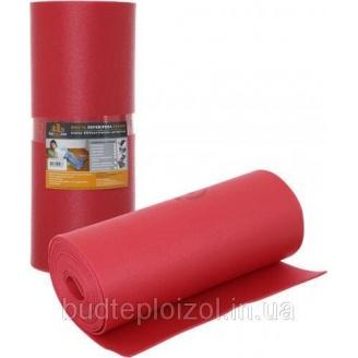 Полотно Verdani шумоизоляционное 8 мм 0,6х8 м красное