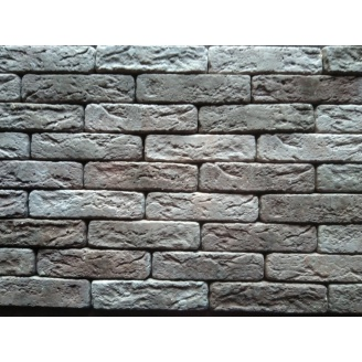 Гипсовая плитка Римский кирпичик 04 коричневый 205х50мм