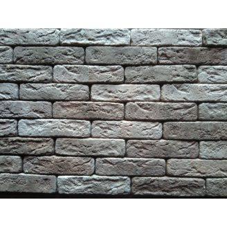 Гіпсова плитка Римський цеглинка мікс-кричневый 200х50мм