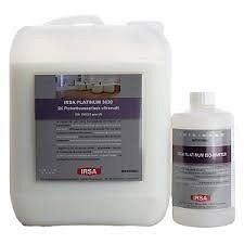 Лак паркетний поліуретановий 2-компонентний матовий, на водній основі IRSA Platinum 3030 2K UM 4,73 л.