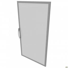 Дверца 3-х секционная М23 L АртМобил 410x18x1150 мм стекло/кромка алюм
