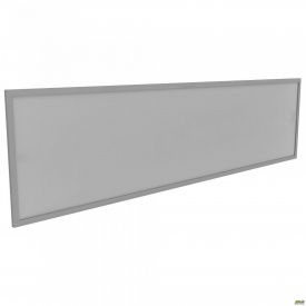 Перегородка М310 АртМобил 1850x18x400 мм стекло/кромка алюм