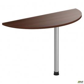 Стол приставной МГ-304 (1200х500х750мм) орех темный