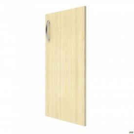 Дверь М22-2 R АртМобил 410х18х760 мм клен/кромка серый металлик