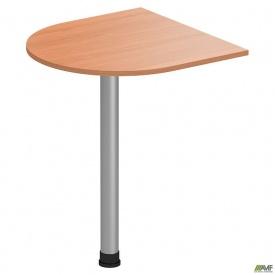 Стол приставной ОМ-102 (600х600х750мм) бук