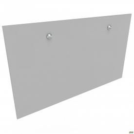 Перегородка М311-1 АртМобил 1850х18х800 мм сірий/кромка сірий металік