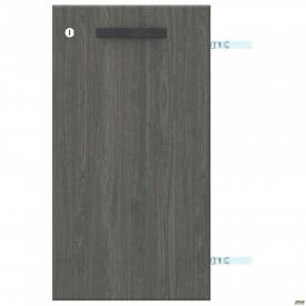 Дверь SIG-710 с замком ДСП L SIG 10 395x18x737 мм Морское Дерево Карбон