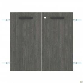 Двері SIG-711 з замком ДСП R+L SIG 11.12.13.601 791х18х737 мм Морське Дерево Карбон
