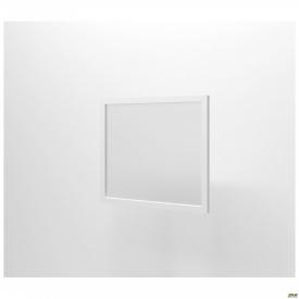Фасад стекло Delta DL-713 R 426х390 мм профиль белый