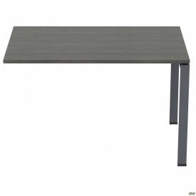 Стол приставной с укороченными перемычками SIG-106 (1187х800х750мм) Черный графит 60х30мм Морское д