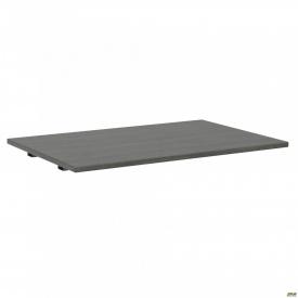 Стол сегмент с укороченными перемычками SIG-108 (1187х800х25мм) Черный графит 60х30мм Морское дерев