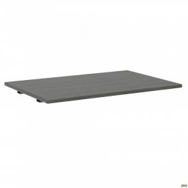 Стол сегмент с укороченными перемычками SIG-108 (1387х800х25мм) Черный графит 60х30мм Морское дерев