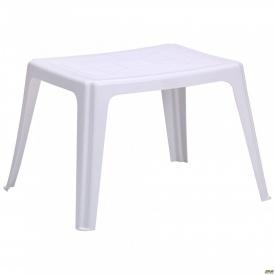 Столик Elba 64x53 пластик белый 01