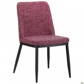 Стул обеденный Витторио черн/меланж пурпур