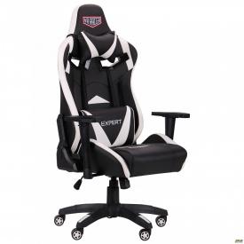 Крісло VR Racer Expert Guru чорний/білий