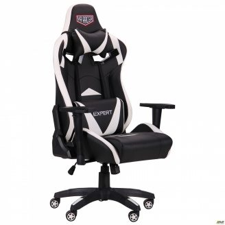 Кресло VR Racer Expert Guru черный/белый