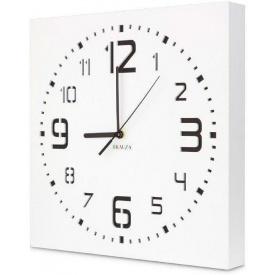 Настенные часы ручной работы Kauza белые (kau_0003)