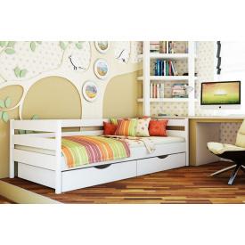 Ліжко дерев`яне дитяче Нота 190х80 см