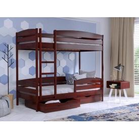Ліжко дерев`яне 2х-поверхове Нота плюс ТМ Естелла