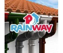 Водосточная система RainWay 130/100мм коричневая