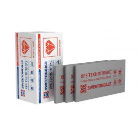 Экструзионный пенополистирол ТехноНИКОЛЬ XPS ТЕХНОПЛЕКС L 1180x580x30 мм