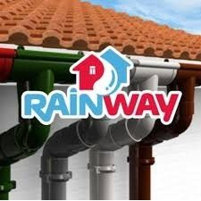 Водостічна система RainWay 130/100мм коричнева