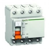 Дифференциальное реле Schneider Electric ВД63 4P 40А 100мА