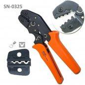 Кліщі для обтиску неізольованих наконечників SN-0325 0,5-2,5 мм2
