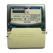 Електролічильник трифазний однотарифний ЦЕ 6804-U/1 220В 5-60А 3ф 4пр МР32 Енергоміра